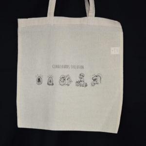 Tote bag : Clinkosaurus Evolution – Clink Art & Tattoo