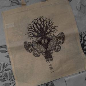 Tote bag : Chrysalide – Clink Art & Tattoo