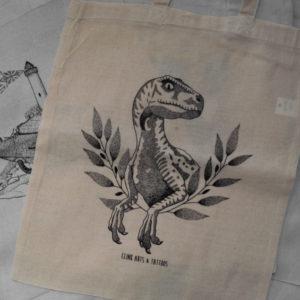 Tote bag : Raptor – Clink Art & Tattoo